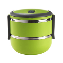 japanese round tiffin bento 304 stainless steel lunch box