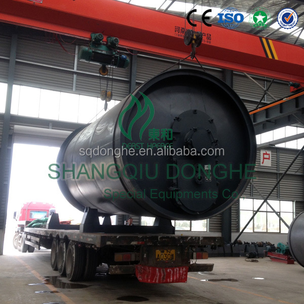 waste plastic tire pyrolysis to fuel oil tire pyrolysis plant for sale