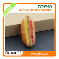 2015 new products factory simulate hamburger flash disk/pendrive/flash memory