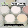 200 Nude color Acrylic Nail Fast Drying Dip Powder powder for dip nails system GHDP-fu10