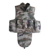 Digital Camouflage Body Armor Equipment Kevlar