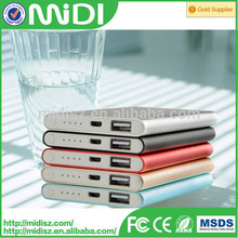 factory price new arrival thin mobile power bank 9000mah for all kinds of mobile phone