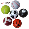 2018 novelty funny sport golf ball 6 pack gift set football shaped mini balls
