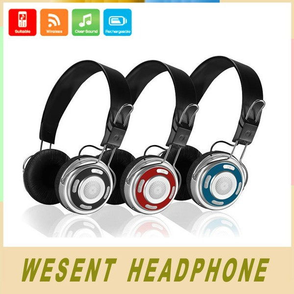 Private Label Headphones Wireless Headphones with built in fm radio and Memory Card