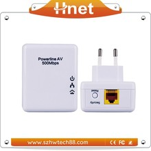 Hnet Brand Homeplug AV Powerline Adapter with POE in wireless/Wired Networking Equipment