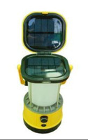 olar Camping Lantern And Cell Phone Charger Yellow Color
