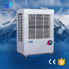 Outdoor water fan evaporative portable air cooler