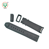 factory made fashion black rubber watch strap color change watch bands rubber watch band