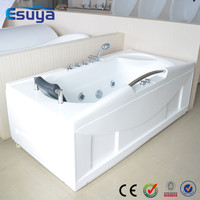 China market hot sale high qulity oen person use small round corner bathtub