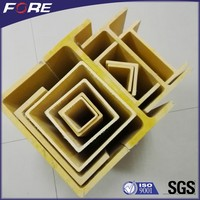 FRP Profiles,density of frp material,Isophthalic Resin fiberglass square tube round tube for construction