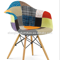 wholesale cheap upholstery fabric plastic chair
