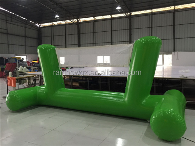 Commercial Giant Inflatable Sport Water Games Inflatable Volleyball Court for Sale