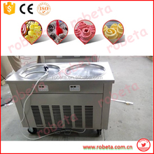 Multifunctional Customized China Street Mobile Fried Ice Cream Cart Designer