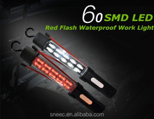 60 SMD LED Light 4400mAh signal warning light Waterproof tube led light tube new cool tubes