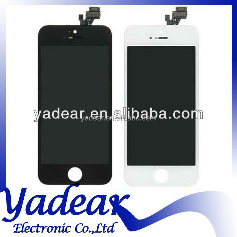 wholesale lcd foxconn for iphone 5 display touch for iphone5 screen digitizer