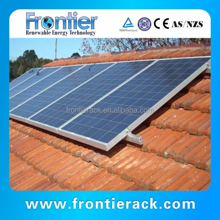 Pitched Roof Solar Panel Mounting Kits