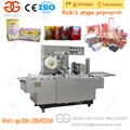 High Efficiency Tea Box Cellophane Sealing Overwrapping Machine for Sale