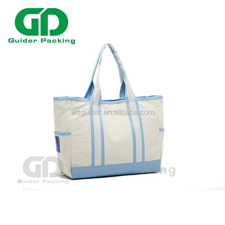 High Quality Custom Printed Logo Organic Blank baby diaper shopping Cotton Bag Canvas Tote Bag