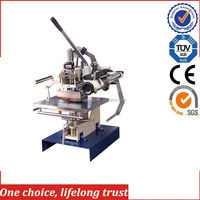 TJ-1 2016 New Small manual hot stamping machines for plastic security seals