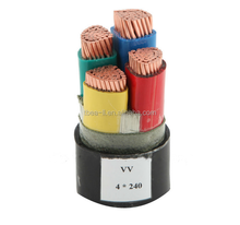 PVC insulated Cable 4cores 240mm2 power cable