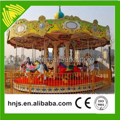 Factory supply 6 seats kids rides park play carousel