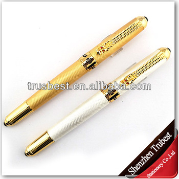 Golden Top Quality Classical Promotion Pen Metal Ball Pen