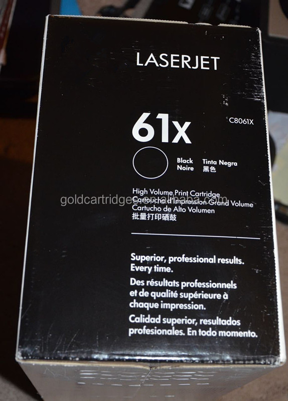 High Yield Laserjet 4100 4101 Toner Cartridge C8061X for HP61X