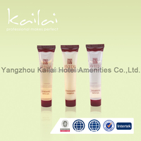 Hotel disposable toiletries supplies cosmetic plastic bottles/Best quality hotel cosmetic/ hotel bath sets