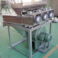 stainless steel material and 200-500kg/h capacity peanut peeling machine