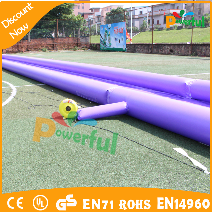 0.9mm PVC high quality inflatable slip and slide slip and slide for sale