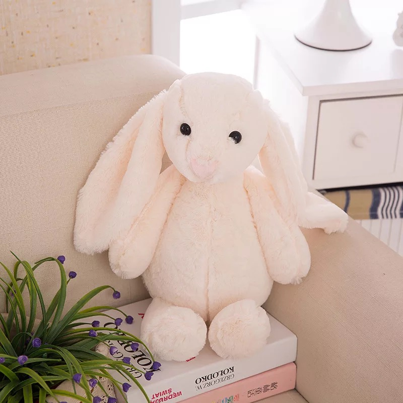 Wholesale Pink Bunny Soft Toy Stuffed Toy Rabbit Wholesale With Long Ears
