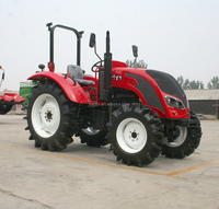 80hp 2 wheel drive farm tractor of QLN800 with YTO diesel engine