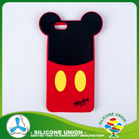 New fashion silicone anime phone case