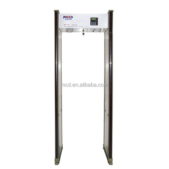 Walk Through Metal Detector Door Passenger Scanner Gate For Airport Subway School MCD-500