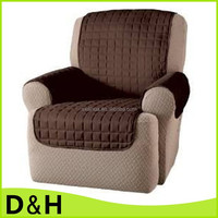 high quality qulited microfiber pet dog chair furniture seat cover