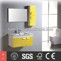 2013 Hangzhou New Design Simple mirrored shoes cabinet