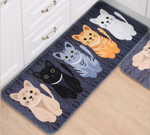 Custom Printed Rugs Cabin Doormat / printed anti-fatigue floor mat