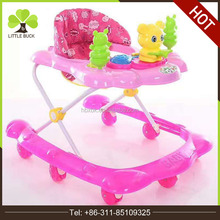 Multi-functional Walking Learning Toy Child Walker Colorful Plastic Baby Walker for Sale