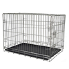 Heavy duty wire mesh crate puppy cage storage foldable crate