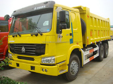 China 6x4 heavy duty tipper truck 20 cbm capacity in Angola