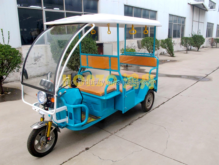 850W China electric passenger tricycle/ battery operated three wheeler