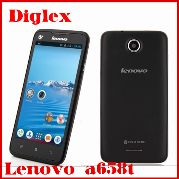 China wholesale lenovo a658t 5.0inch IPS mobile phone