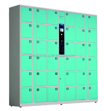 Professional manufacture shopping mall used metal storage cabinet / barcode locker