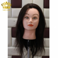 female mannequin sale cosmetology used human hair maniqui head