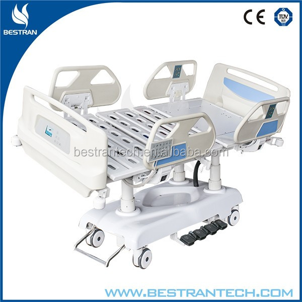 BT-AE031 Seven function electrical icu hospital bed hill rom