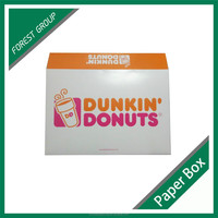 2015 CUSTOM PRINTING CARDBOARD DONUT BOX /HOT FOOD DELIVERY BOX FOR SALE
