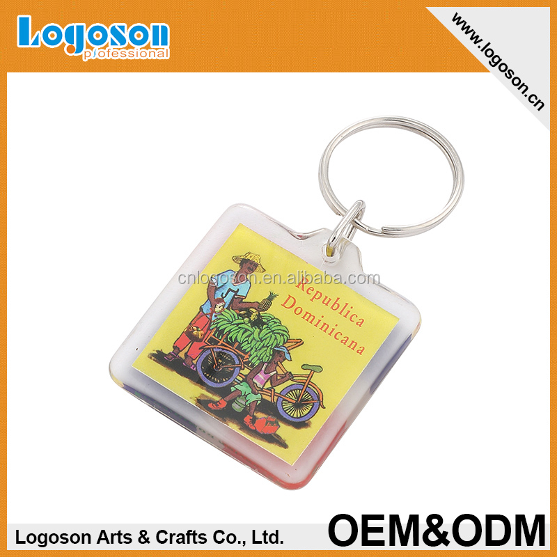 High quality digital photo frame keychain