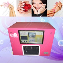 Cheap Digital nail art rose speaking printer machine with computer