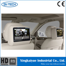 9 Inch Monitor for Car Back Seat Video and Media Player with Headphone