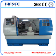 Micro metal turning lathe cnc alloy wheel repair machine for sale AWR3050